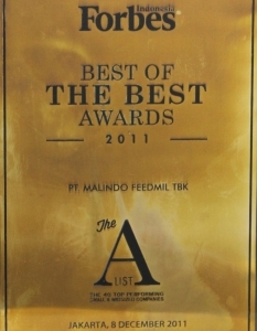 BEST OF THE BEST AWARD 2011