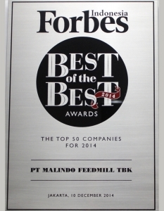 BEST OF THE BEST AWARD 2014