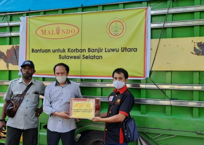 Assistance for North Luwu Flood Victims, South Sulawesi