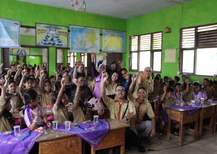Chicken and Egg Nutrition Campaign at Lampung